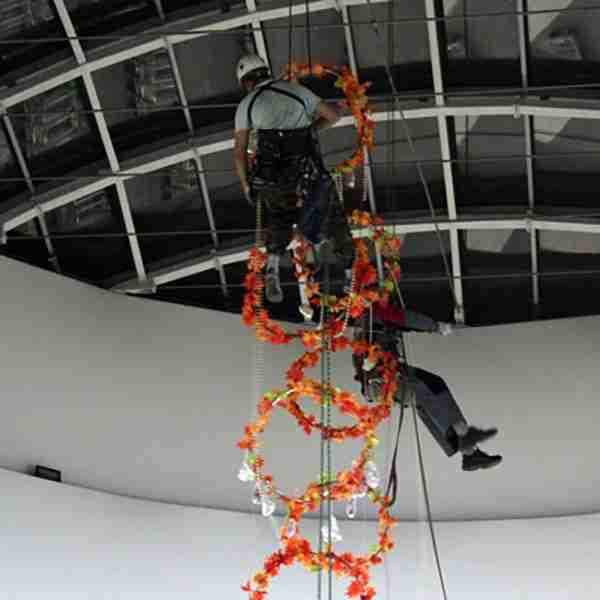 Rope Access Holiday Decorations by RayAccess