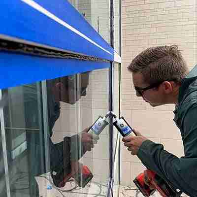 Window Joints Caulking
