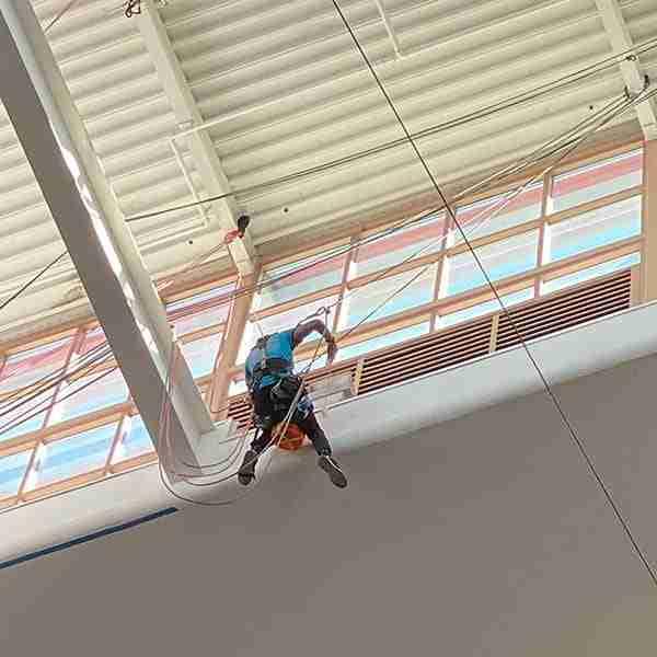 building atrium painting