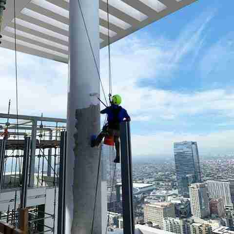 high rise painters