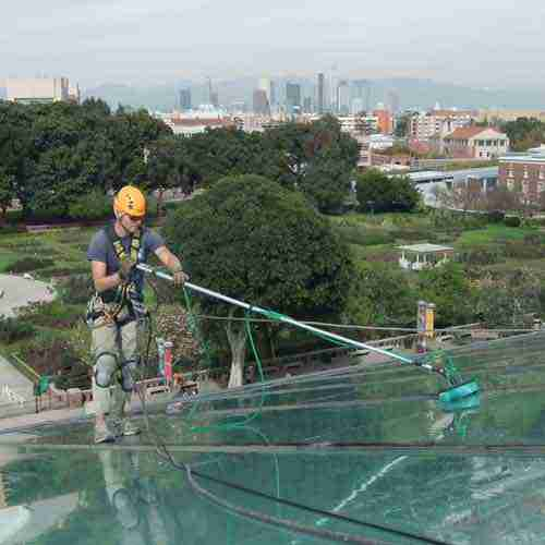 glass roof cleaning