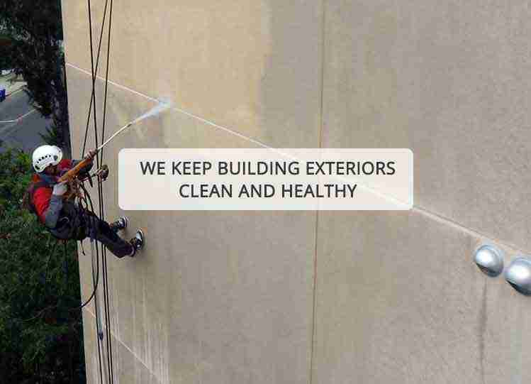 exterior building cleaning los angeles