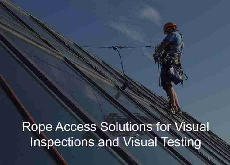 Visual inspection ndt services