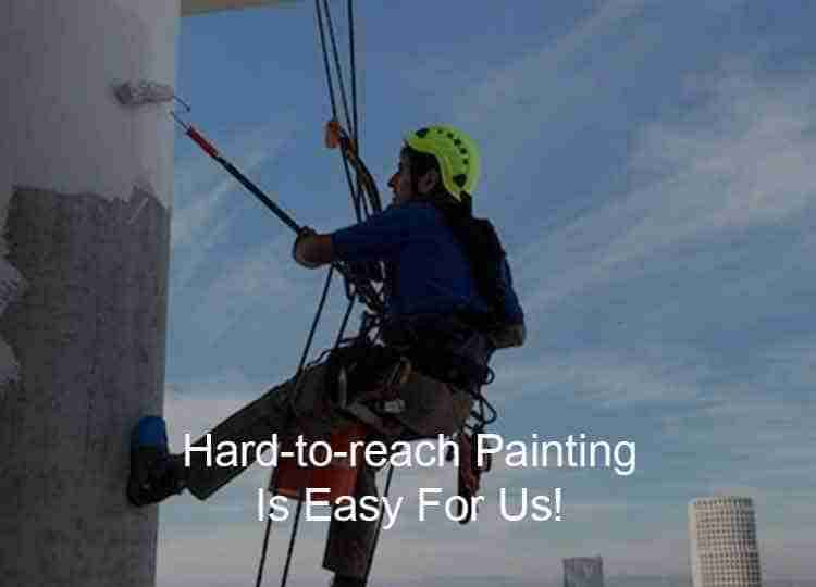 rope access painting Los Angeles, CA