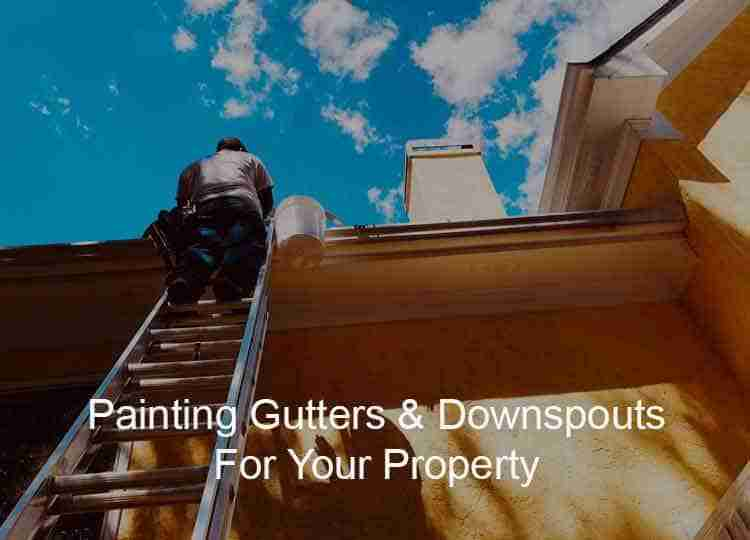 Los Angeles Painting Contractor for Rain Gutters